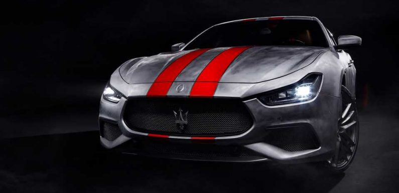 Maserati's Brushed Aluminum Ghibli Trofeo Corse Shows Why More Automakers Should Skip the Paint