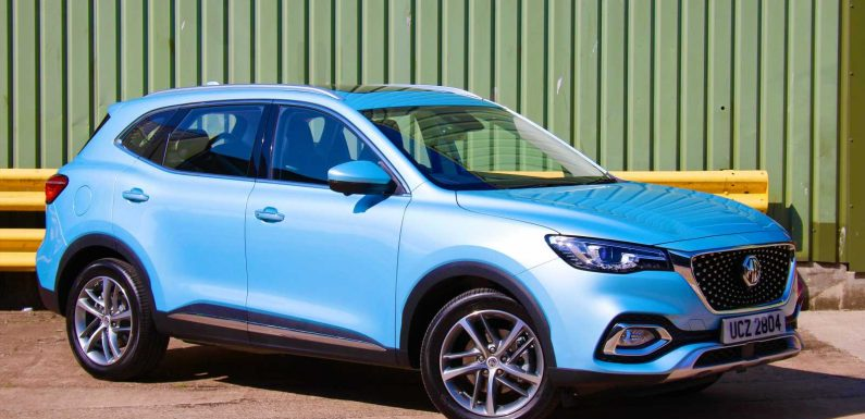 New MG HS plug-in hybrid revealed with 32-mile electric range