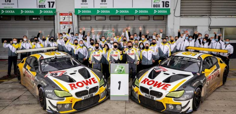 BMW Emerges Victorious at Nurburgring 24 After 9.5-Hour Rain Delay