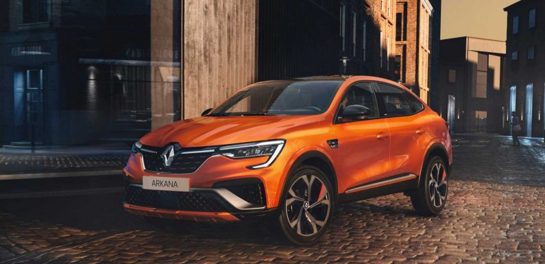New Renault Arkana coupe-SUV confirmed for 2021 launch
