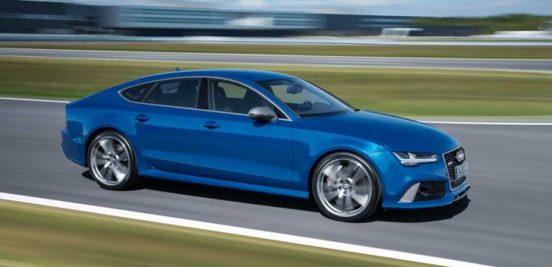 """Man Says He Blew Through Work Zone on 187 MPH Police Chase to Go """"Show Off"""" New Audi RS7"""