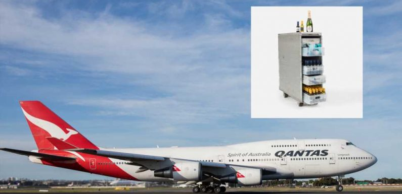 Qantas Airlines' $1,048 Fully Stocked Boeing 747 Bar Carts Sold Out In Minutes