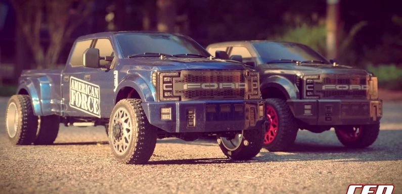 Massive Ford F-450 Dually EV Off-Roader Isn't What You Expect