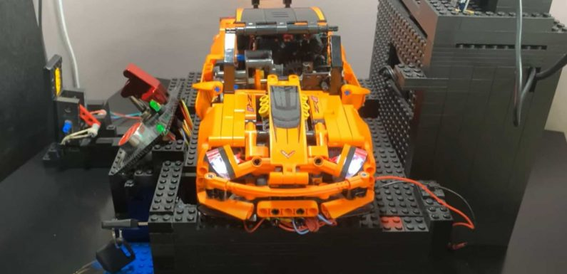 Electric Lego Corvette ZR1 With Manual Gearbox Hits The 'Dyno'