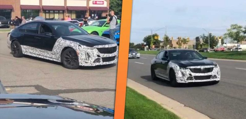Hear for Yourself: Sounds Like the Cadillac CT5-V Is Getting a Supercharged V8