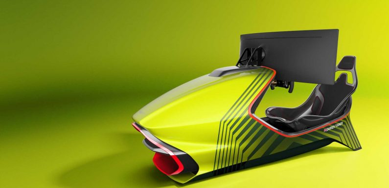 Aston Martin Reveals its First Racing Simulator Named the AMR-C01