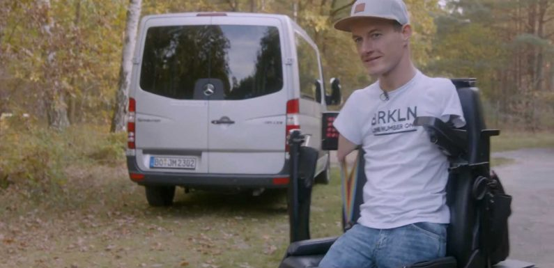 Man Born Without Arms And Legs Drives Awesome Sprinter Van Conversion