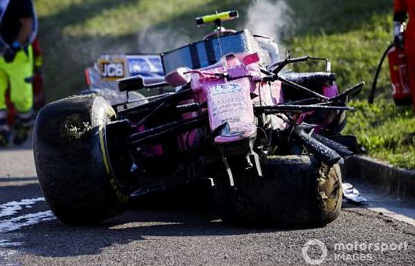 Racing Point in fight to get upgrades ready for Russia