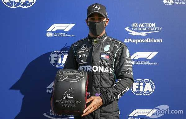 Tuscan GP: Hamilton beats Bottas, Verstappen to pole