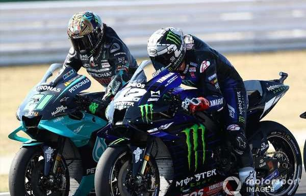 Misano MotoGP poleman Vinales 'doesn't care' about result