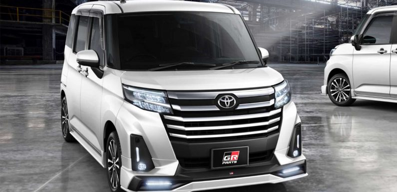 Even This Tiny Toyota Minivan Is Getting The Gazoo Racing Treatment