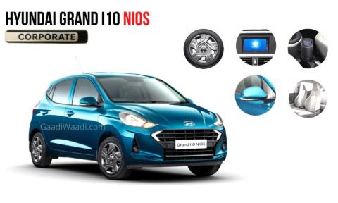 Hyundai Grand i10 NIOS Corporate Edition leaked