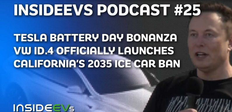 Tesla's Plaid Battery Day, VW ID.4 Officially Launches