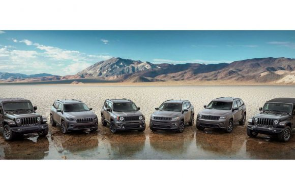 Jeep Marks 80th Anniversary With Special Editions For All Models