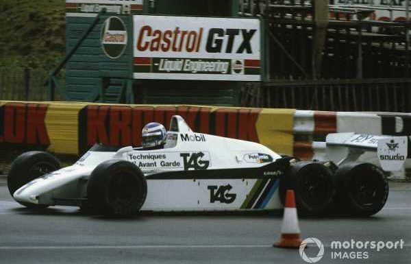 Banned! A video history of six-wheeled F1 cars