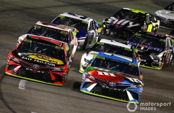 What time and channel is the NASCAR Cup race at Richmond today?
