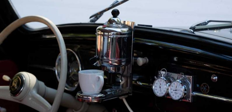 This Dash-Mounted Coffee Maker Is Likely the Rarest Volkswagen Accessory Ever