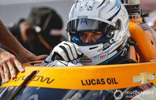 """Castroneves to sub for """"not fit"""" Askew at Harvest GP"""