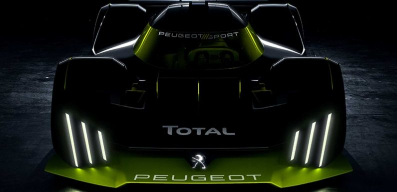 Peugeot Le Mans Hypercar Teased, Signaling High-Performance Road Car