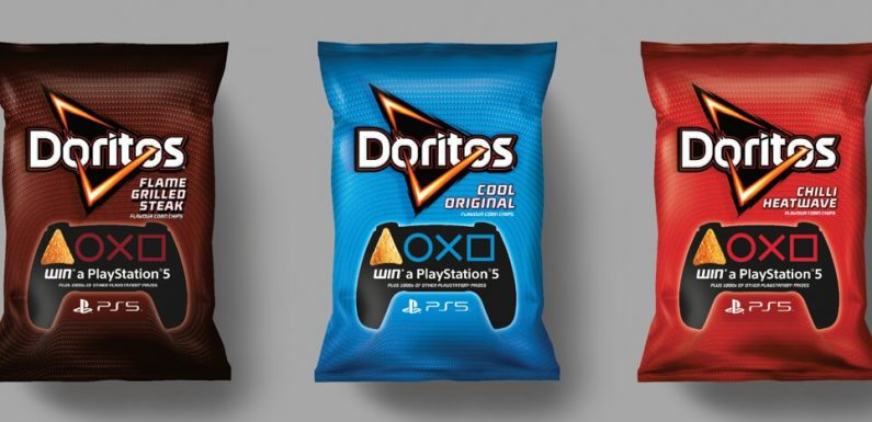 You Can Win a PlayStation 5 With a Dorito-Themed AR Quest