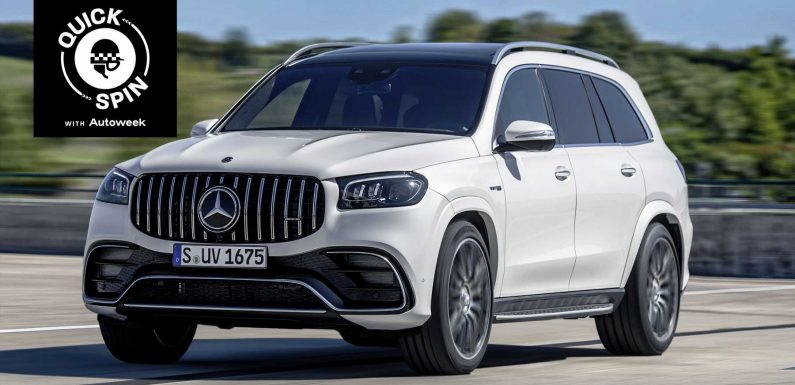 The Mercedes-AMG GLS 63 is a Seven-Seat Rocket Ship