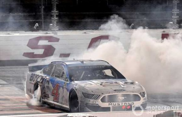 Harvick issues warning to the NASCAR playoff field with win