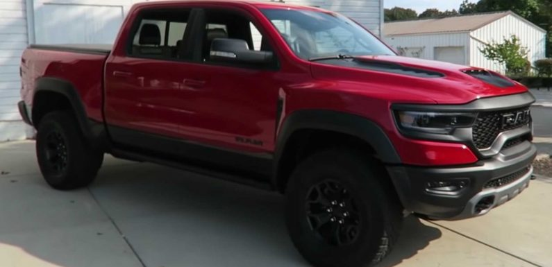 2021 Ram TRX Shows Cool Details In Video Walkaround