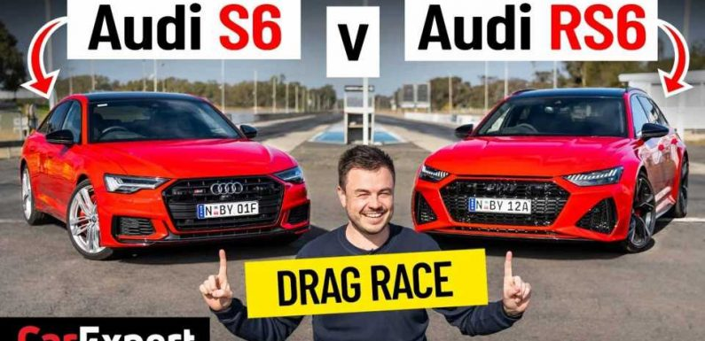 How Much Quicker Is An Audi RS6 Over The S6 In A Drag Race?