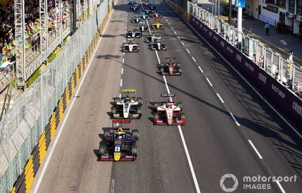 Macau Grand Prix to be run for Formula 4 cars in 2020