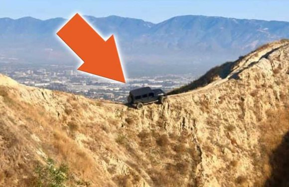 Ford Offered to Rescue That Jeep Wrangler Stuck on a Bike Trail