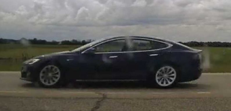 Sleeping Tesla Driver Nabbed Doing 93 MPH on Autopilot with Seats 'Completely Reclined'