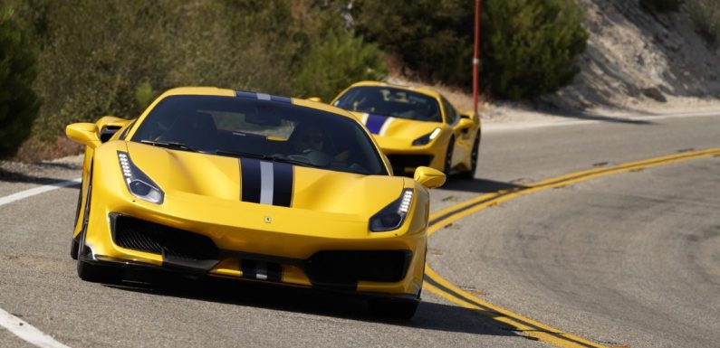 Letter from California: Cool Ferraris on a Very Hot Day