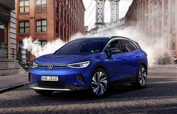 The 2021 Volkswagen ID.4 Is a 250-Mile Electric Crossover Aimed at Slaying the RAV4