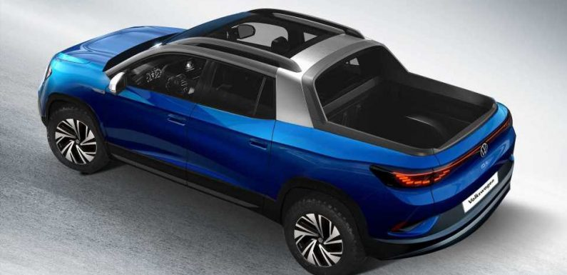 VW ID.4 Rendered Into Truck Might Not Be Such A Bad Idea