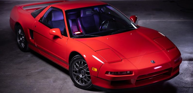 This 1999 Acura NSX Zanardi Edition Is One of 51 Built, and Will Cost You Over $215k USD