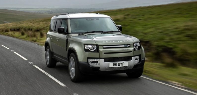 The New P400e Plug-In Hybrid Defender is Land Rover's Most Powerful Yet