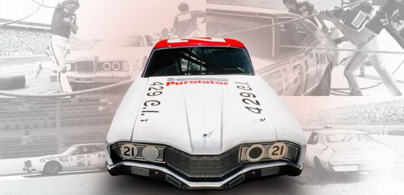 From the Archives: The Woods Brothers 1971 Mercury Montego Legendary NASCAR Winner