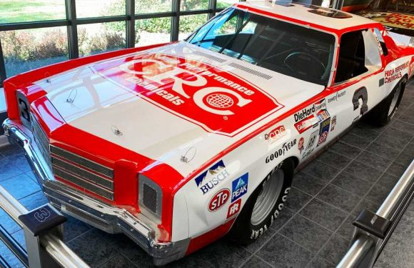Vintage NASCAR Race Cars and Dale Earnhardt at the Richard Childress Racing Museum