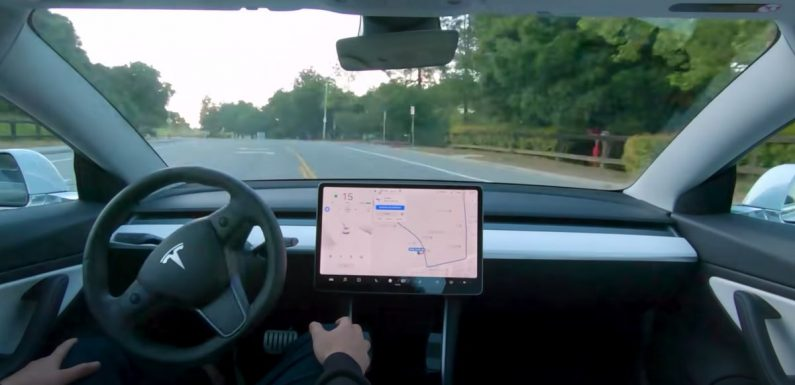 """Tesla Says Its 'Full Self Driving' Beta """"May Do The Wrong Thing At The Worst Time"""""""
