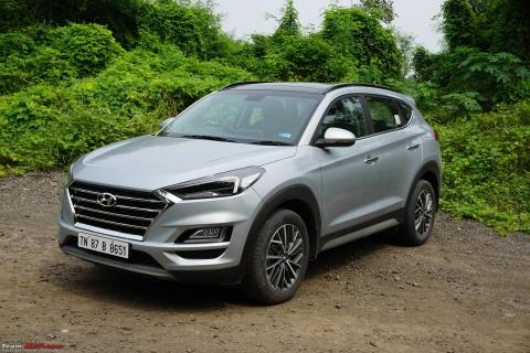 Hyundai Tucson Facelift Review : Now with 8-speed AT