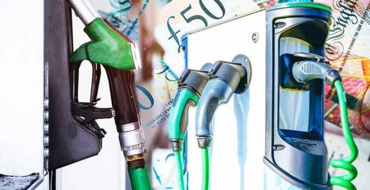 Petrol & diesel cars more expensive than electric with owners paying £100 extra per month