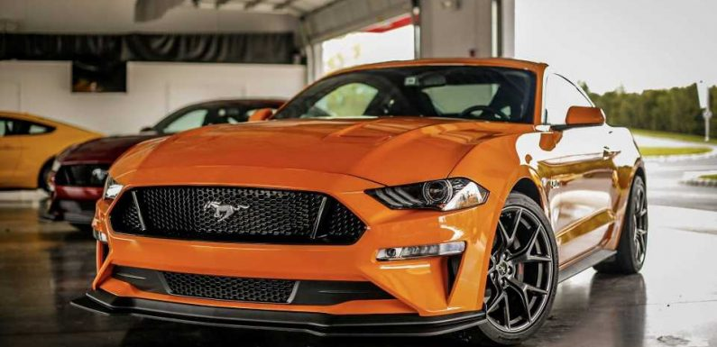 Ford Mustang GT Performance Pack 2 Removed For 2021MY