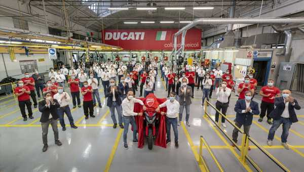 2020 Ducati Multistrada V4 to come with front and rear radar – public presentation on November fourth – paultan.org