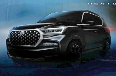 Ssangyong Rexton G4 facelift teased ahead of reveal