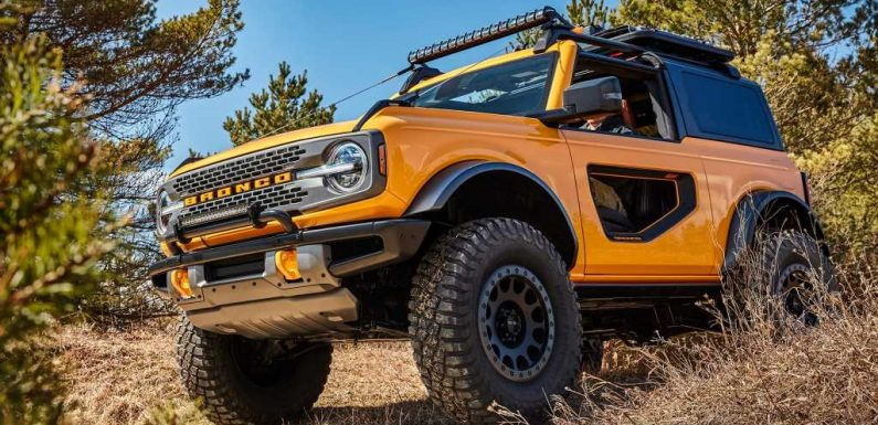"""2021 Ford Bronco """"Donut Doors"""" Unlikely to Make it to Production"""
