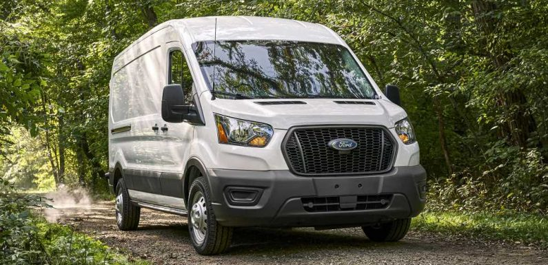 2021 Ford Transit Van Offers RV, Delivery, and Motorhome Prep Packages