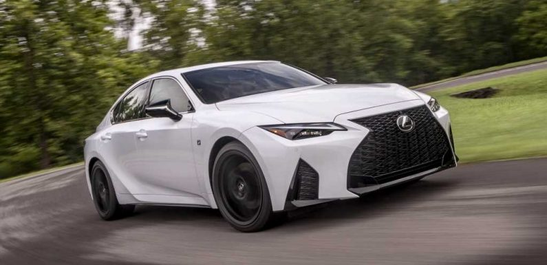 2021 lexus is 300, 350, f sport pricing revealed