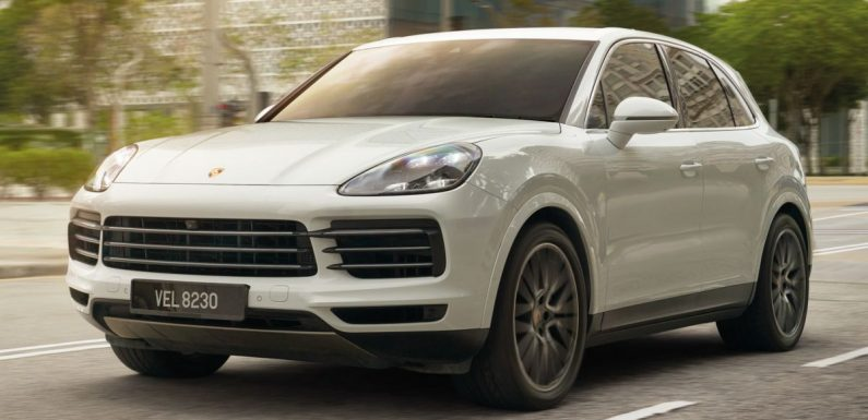 """2021 Porsche Cayenne Premium Package in Malaysia – air suspension, 21"""" RS Spyder wheels; from RM680k – paultan.org"""
