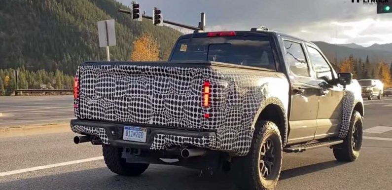 The Sound of This 2021 Ford F-150 Raptor Prototype Has Us Very Confused