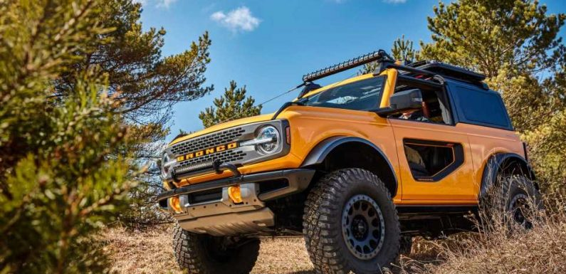 2021 Ford Bronco Build And Price Launches Friday, October 23